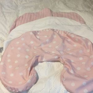 Bundle of 3 Boppy pillow covers